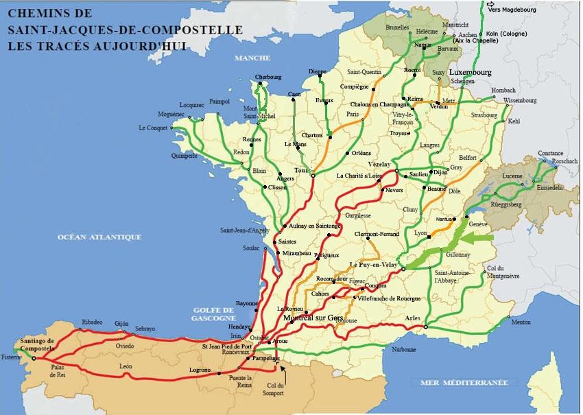 Chemin De Compostelle Arts Et Voyages